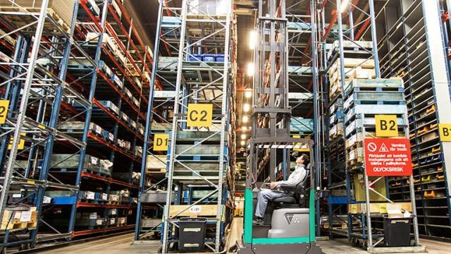 Neu: VNA-Truck von Mitsubishi Forklift Trucks