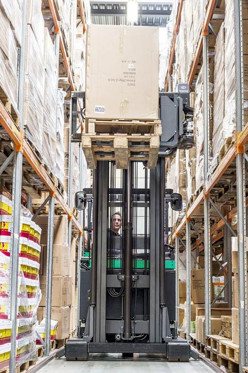 Mitsubishi Forklift Trucks Schmalgangstapler